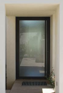 porte aluminium posée par les Ets Gaillard en Vendée