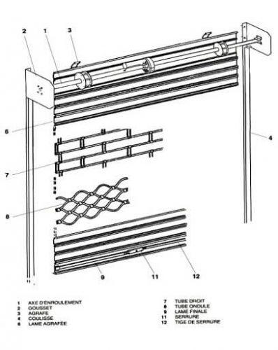 rideaux metallique 1